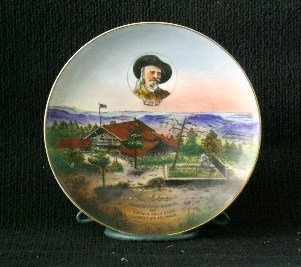 18: German Buffalo Bill Souvenir Plate