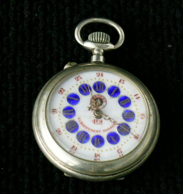 23: Coin Silver Pocket Watch