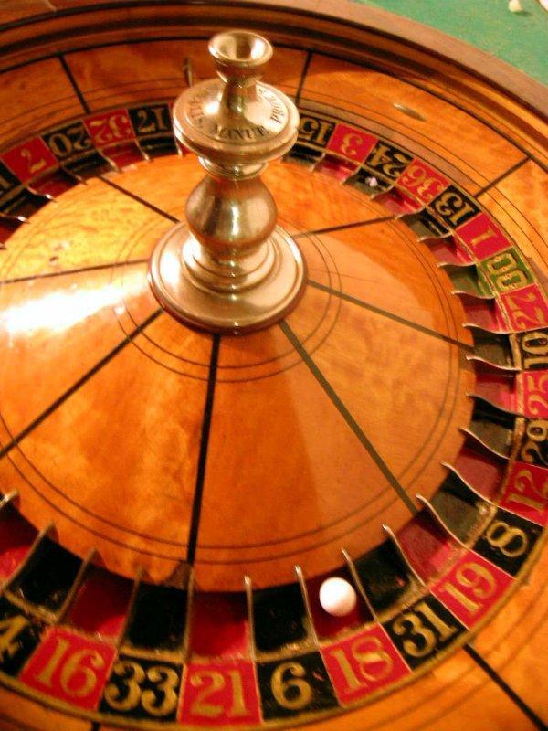 252: Superb Antique Roulette Wheel