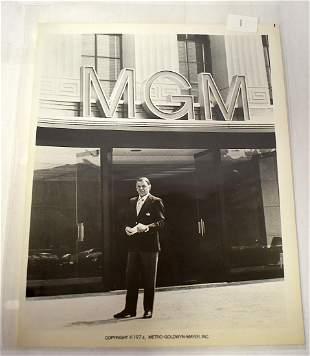 1974 Frank Sinatra MGM Photograph
