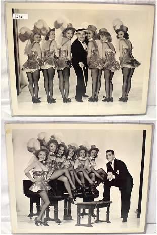 Clark Gable Orig Photos with Publicity Snipes 2