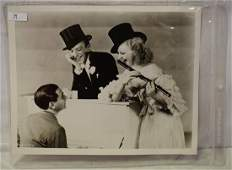 Fred Astaire. Ginger Rogers. Eddie Cantor Photo