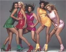 Super Models Richard Avedon Versace Publication Photo