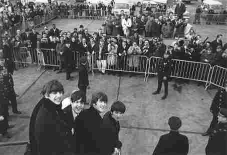 The Beatles NY Harry Benson Publication Photo