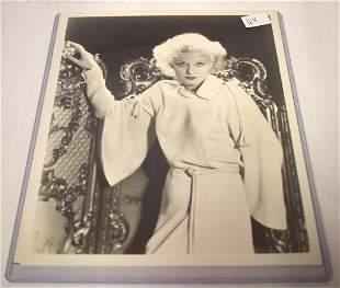 Jean Harlow Glamour Portrait