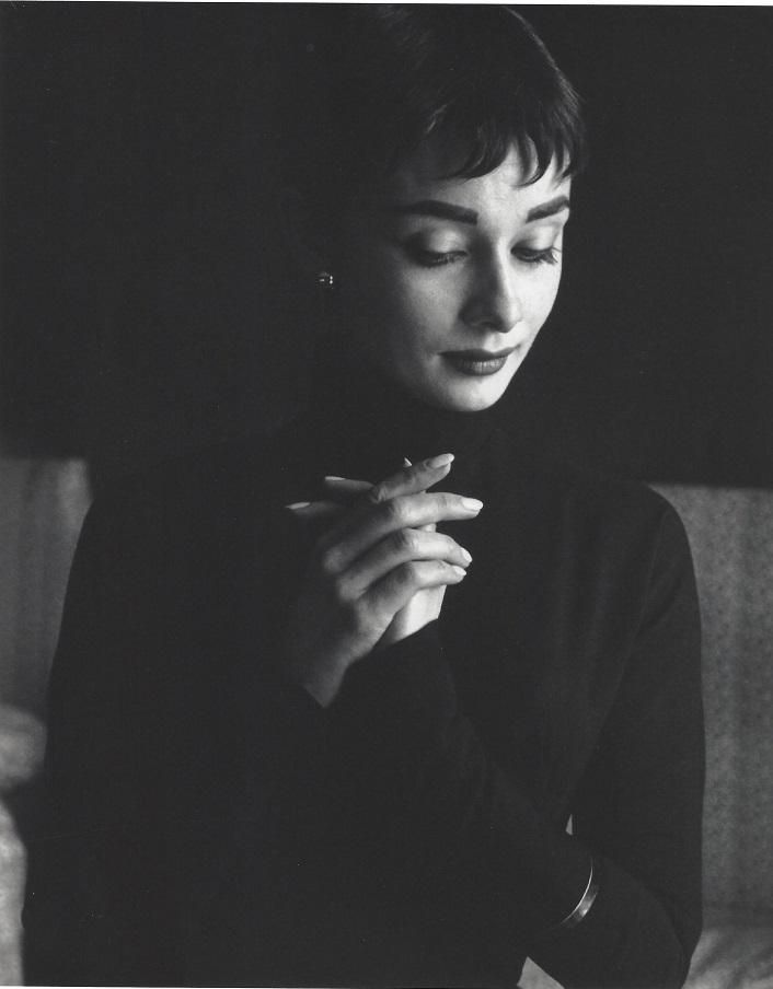 Audrey Hepburn Cecil Beaton Publication Photo