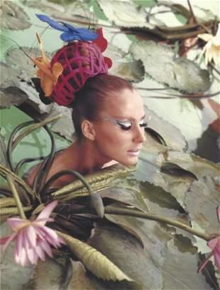 Norman Parkinson Tahiti Lillies Publication Photo