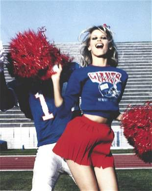 Clauida Schiffer Cheerleader Publication Photo