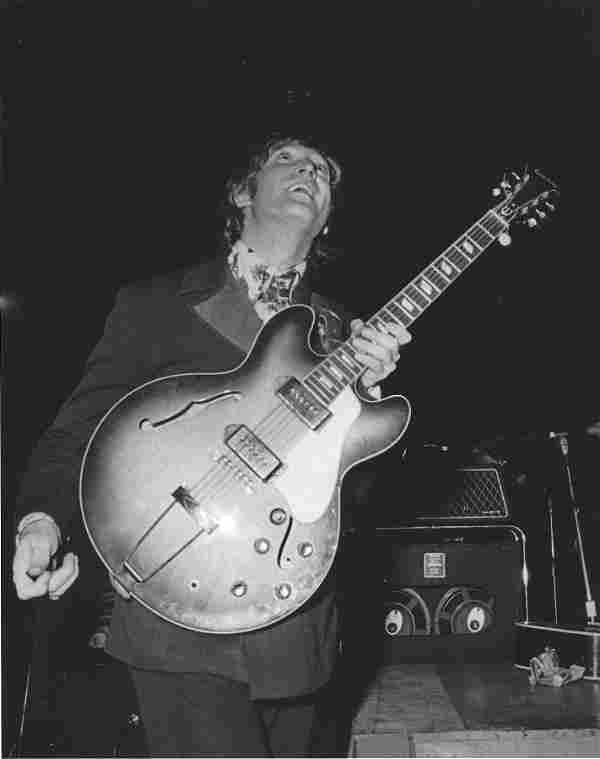 John Lennon In The USA Harry Benson Publication Photo