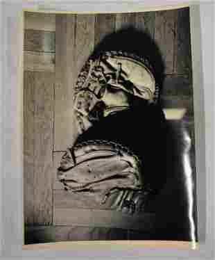 William Gottlieb Photograph Babe Ruths Glove