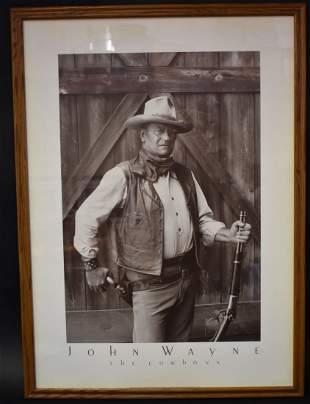 John Wayne The Cowboy Photo Poster