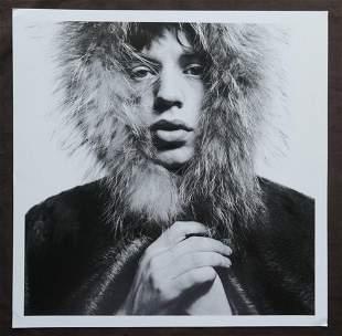 Mick Jagger David Bailey Publication Photo