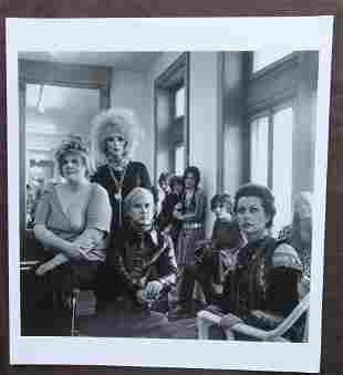Andy Warhol & The Factory Cecil Beaton Photo