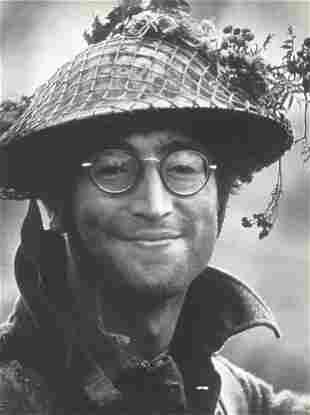 John Lennon Douglas Kirkland Publication Photo