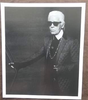 Karl Lagerfeld Self Portrait Publication Photo
