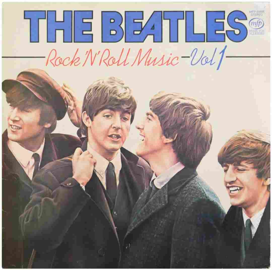 Princess Diana Personal Beatles Record Signed With
