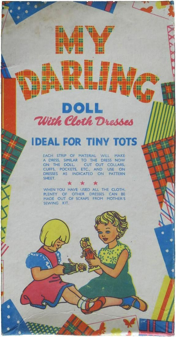 Princess Diana Personal Owned Childhood Play Doll Set