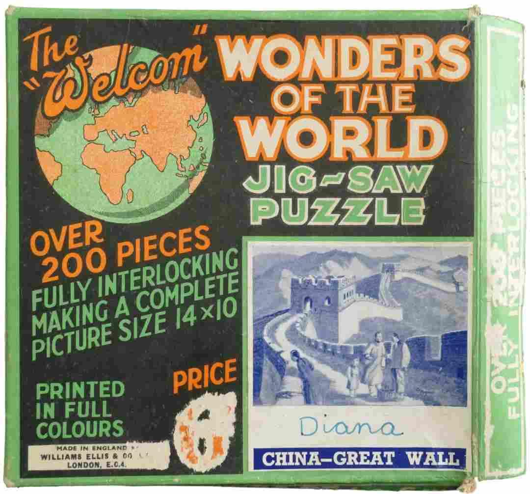 Princess Diana Personal Owned Childhood Jigsaw