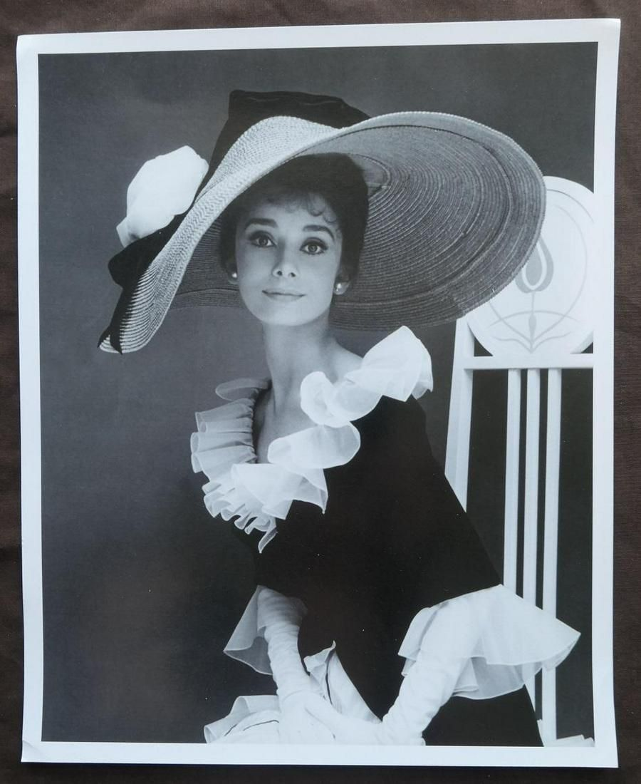 Audrey Hepburn My Fair Lady Cecil Beaton Photo