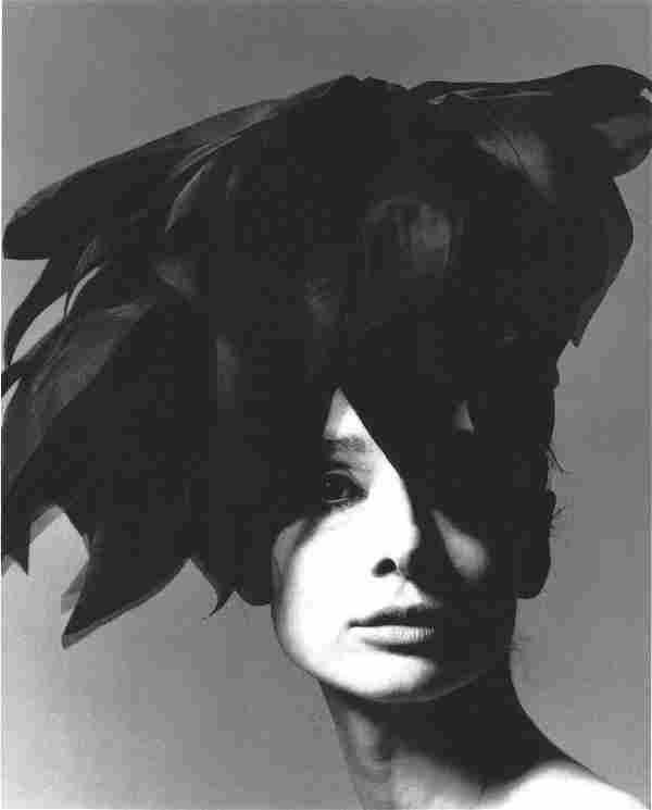 Audrey Hepburn Bert Stern Vogue Publication Photo