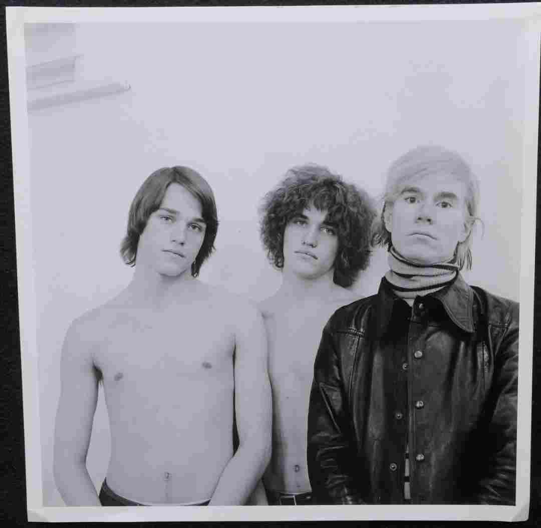 Andy Warhol & Factory Cecil Beaton Publication Photo
