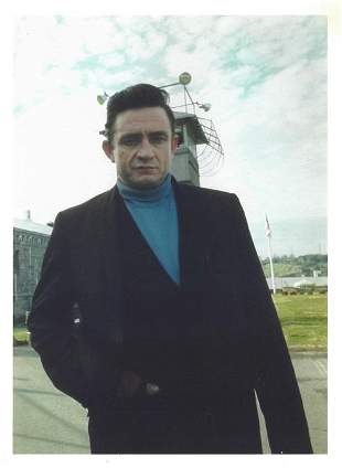 Johnny Cash Original Jim Marshall Press Photo