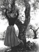 Audrey Hepburn Original Philippe Halsman Press Photo