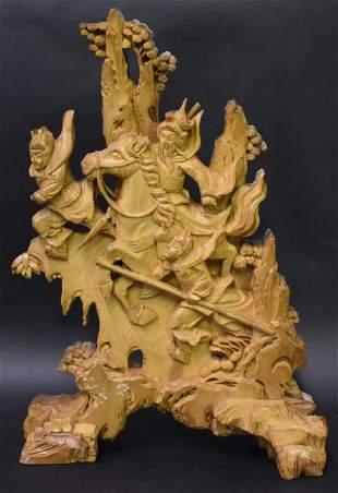 Oriental Wood Carving