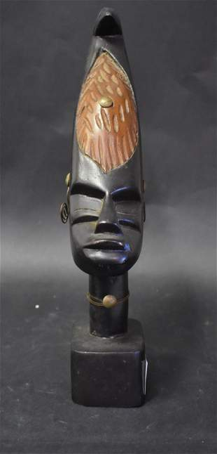 Carved African Head