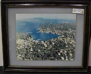 Harbor Photograph Framed