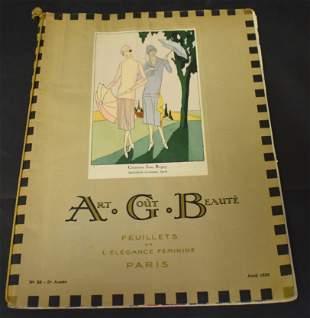 Art Gout Beaute Fashion Magazine 1925