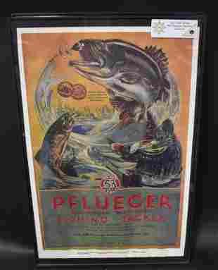 Pfluegr Fishing Tackle Poster