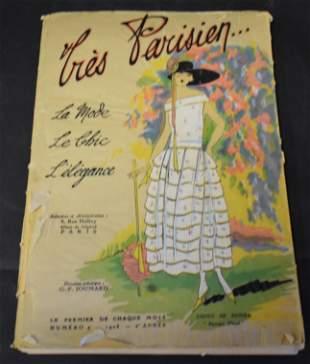 Tres Parisien Fashion Magazine