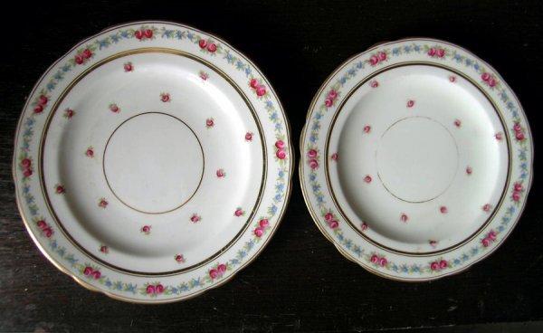 6: Ten Floral & Gilt English Porcelain Plates