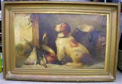 143:English Painting Hunting Dogs James Hardy