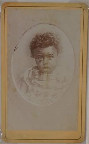 J E Smith Carte de Visite of a Child