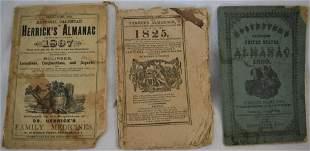 19th C Almanacs 3