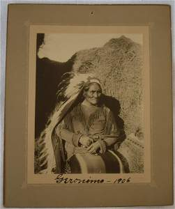 Imperial Photograph, Geronimo, 1906