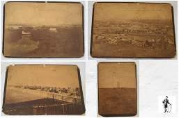 Four Barry Indian Photographs, Circa 1891