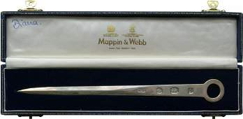 Princess Diana Personal Boxed 1983 Letter Opener