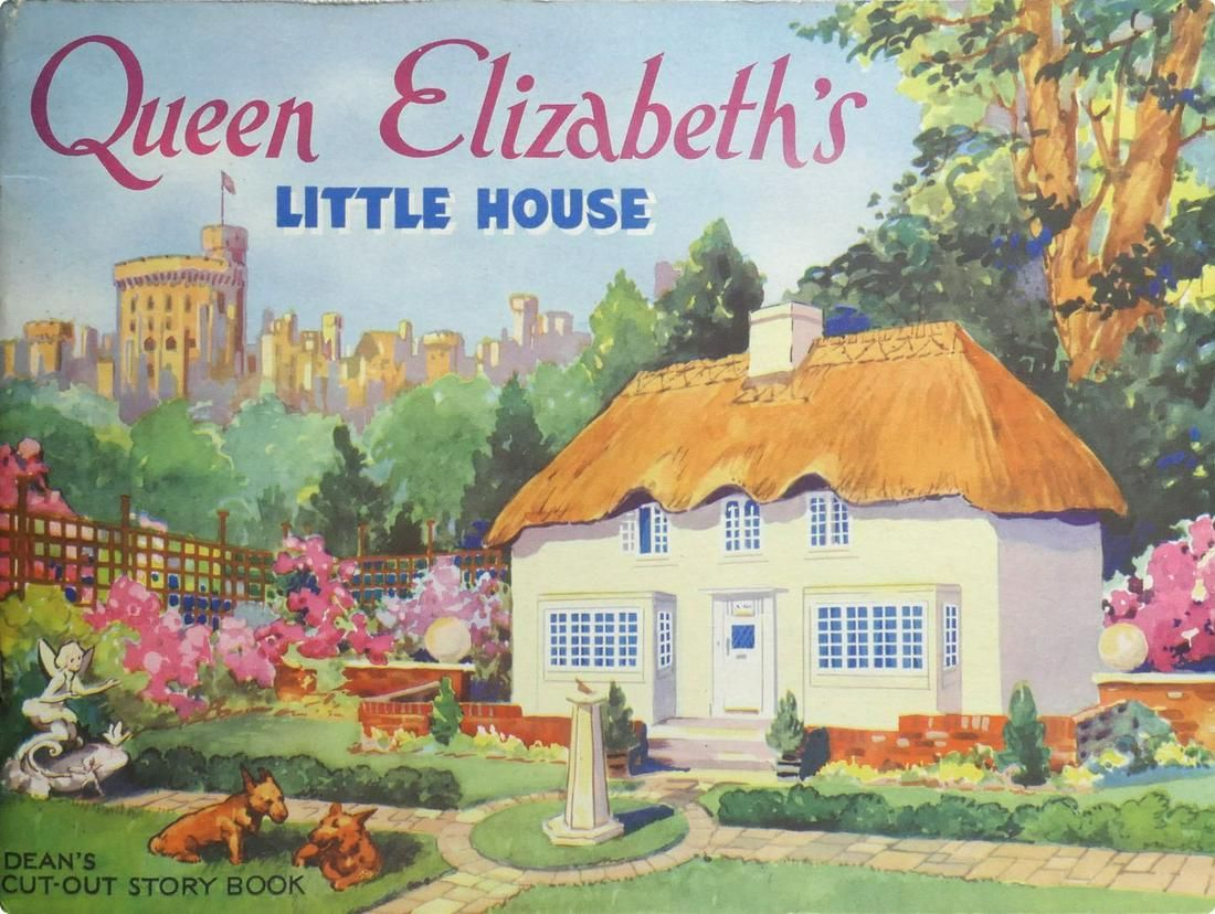 Princess Diana Personal Owned Childhood Book