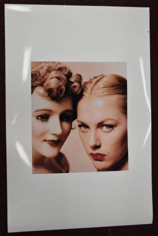 Erwin Blumenfeld Model and Mannequin Cover Study