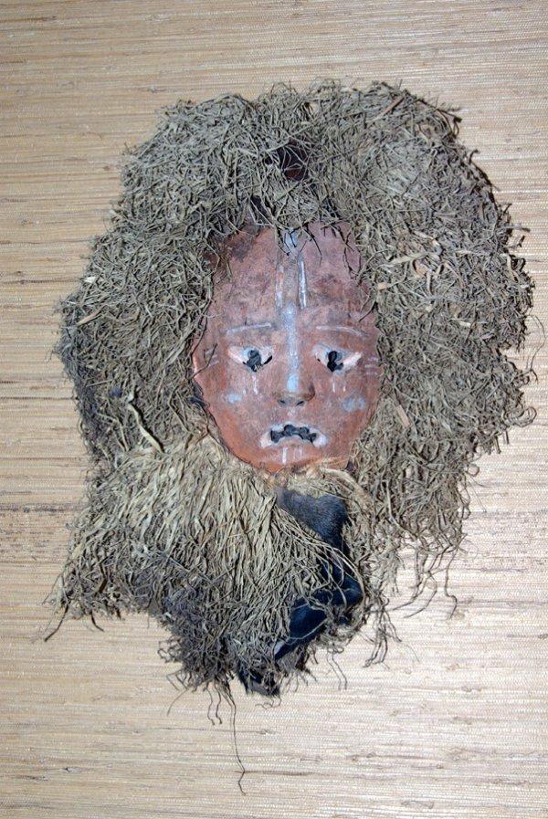 6: AFRICAN SORCERER'S MASK
