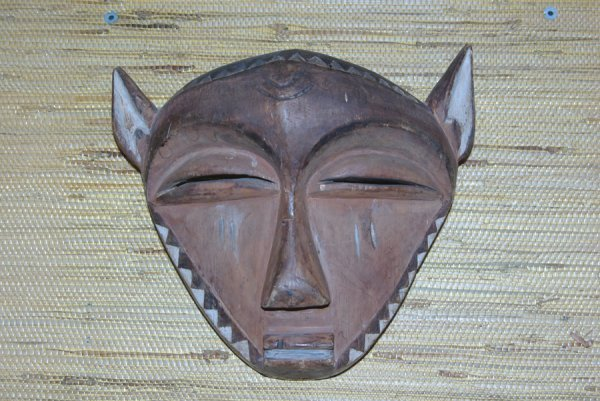 17: AFRICAN INITIATION OR CHIEF'S MASK