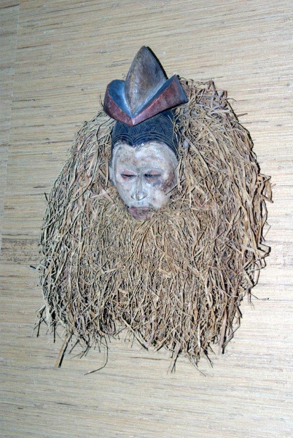 18: AFRICAN BOY'S CIRCUMCISION MASK