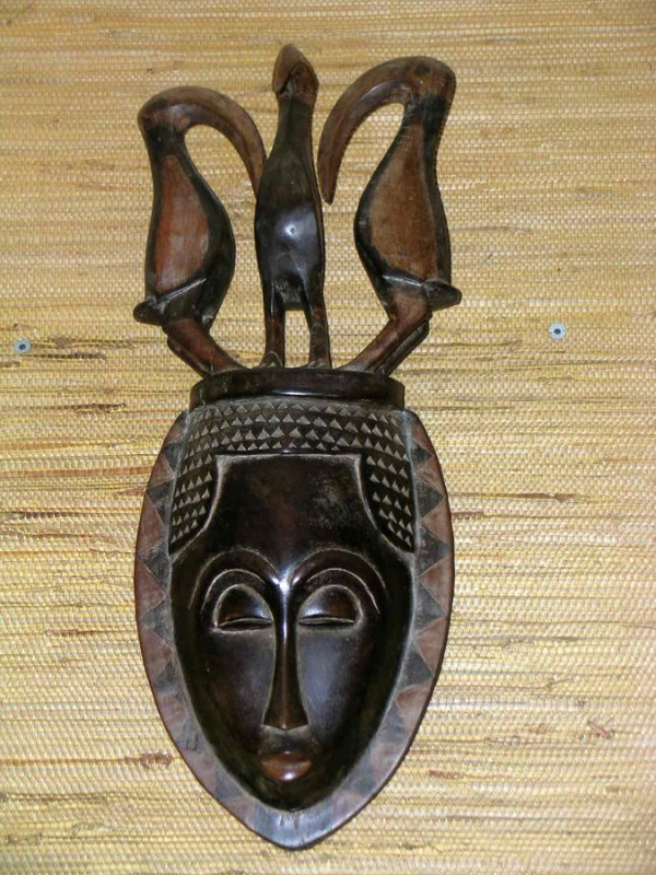 36: AFRICAN MASK
