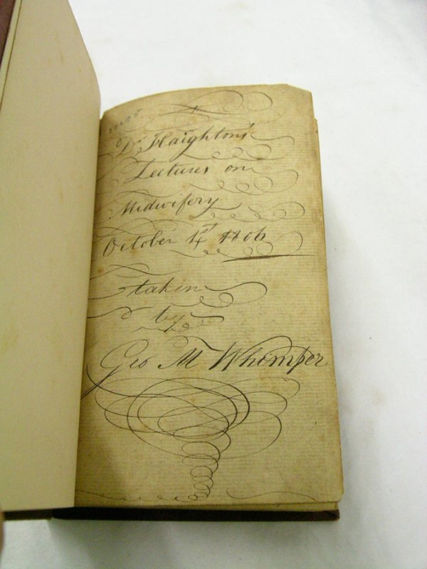 439: RARE BOOK. LECTURES ON MIDWIFERY 1806