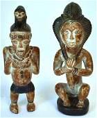 Pr. African Carved Figures
