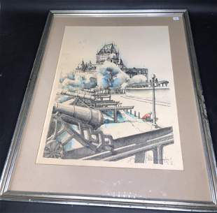 DuJardins Strange Quality Watercolor Sgd