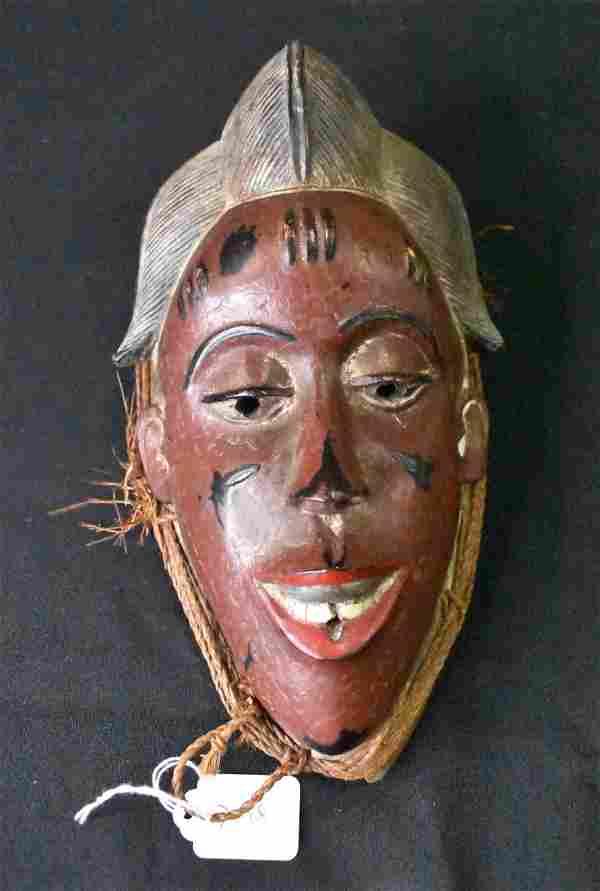 Fine Quality Antique Baule Mask